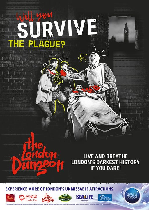 The London Dungeon - Standard Entry tickets