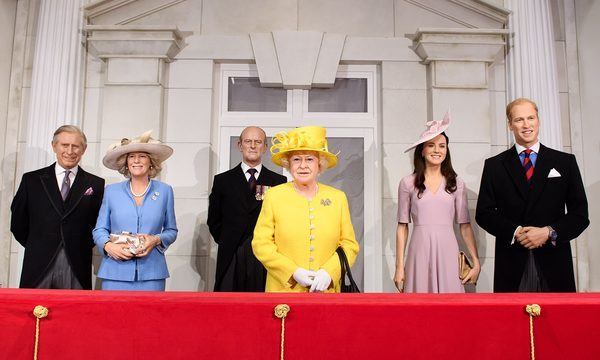 Londres Madame Tussauds Famille Royale