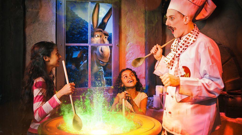 DreamWorks Tours Shrek's Adventure London
